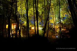 Apartamenty W DRZEWACH: styl , w kategorii Hotele zaprojektowany przez W DRZEWACH