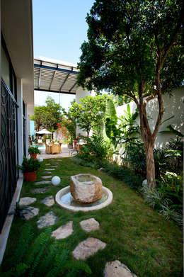 Projekty,  Ogród zaprojektowane przez Taller Estilo Arquitectura