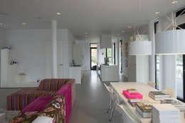 Projekty,  Salon zaprojektowane przez HOYT architecten