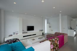 modern Living room by HOYT architecten