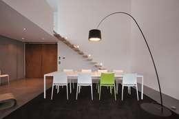 Projekty,  Jadalnia zaprojektowane przez lc[a] la croix [architekten]