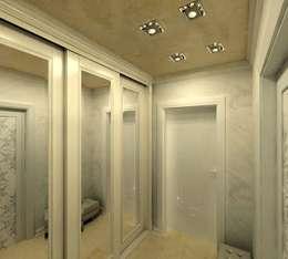 Дизайн интерьера квартиры в стиле «арт-деко»: Коридор и прихожая в . Автор – DEMARKA