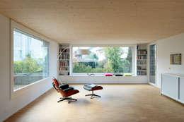 modern Living room by HKK Architekten Partner AG