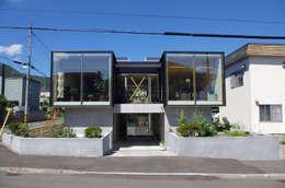 Dialog-S: 畠中 秀幸 × スタジオ・シンフォニカ有限会社が手掛けた家です。