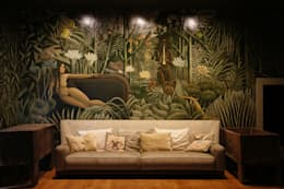 Sciana w kregielni: styl eklektyczne, w kategorii Spa zaprojektowany przez SAFRANOW