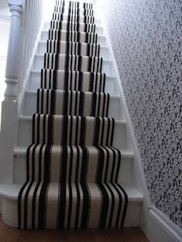 classic Corridor, hallway & stairs by Style Within