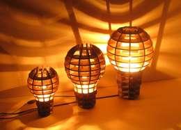 """Lampe suspension ou à poser """" Be a Big Lightbulb"""": Art de style  par Be The Light"""
