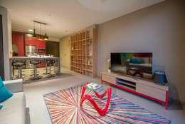 ESTUDIO TANGUMA: modern tarz Oturma Odası