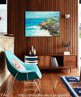 Me s tableaux dans les ambiances déco: Salon de style de style Scandinave par NetWorking Blog déco