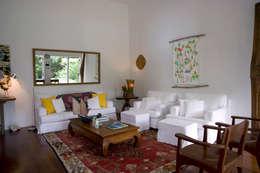 Salas de estilo topical por Renata Romeiro Interiores