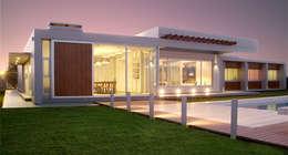 Interno: Casas de estilo moderno por METODO33