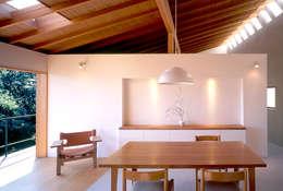 世帯1 主室: 八木建築研究所 Yagi Architectural Designが手掛けたダイニングです。