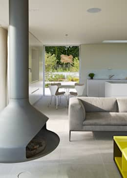 modern Living room by Wilkinson King Architects