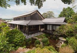 島原古民家再生: 環アソシエイツ・高岸設計室が手掛けた家です。