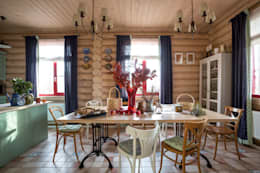 country Dining room by Tatiana Ivanova Design