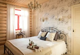 country Bedroom by Tatiana Ivanova Design