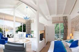 Projekty,  Sypialnia zaprojektowane przez SAKLI GÖL EVLERİ