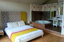 Projekty,  Hotele zaprojektowane przez SAKLI GÖL EVLERİ
