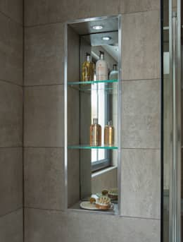 Projekty,  Łazienka zaprojektowane przez Jigsaw Interior Architecture