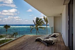 Terrazas de estilo  por Nicolas Tye Architects
