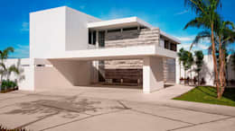 Privada El Secreto: Casas de estilo moderno por Ancona + Ancona Arquitectos
