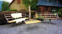 Salon flocon by jardin boheme: Jardin de style de style eclectique par Jardin boheme