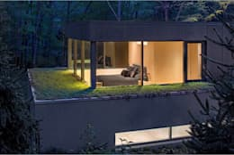 Recámaras de estilo moderno por Specht Architects