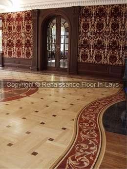 classic Living room by Renesans Floor In-lays Urszula Klotz