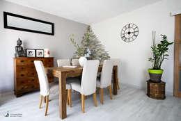Comedores de estilo moderno por Violaine Denis
