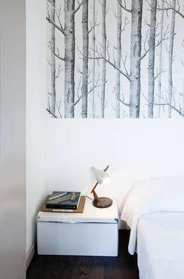 Bedroom by marta novarini architetto