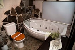 KarlıkEvi Butik Otel Kapadokya – Oda Banyo: modern tarz Banyo