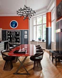 Gisbert Pöppler Architektur Interieur: eklektik tarz tarz Mutfak