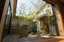 Garden design office萬葉의  정원