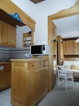 AVANT / ensemble cuisine -  salon :  de style  par ELDI conseil