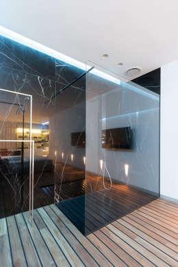 Ванные комнаты в . Автор – VALENTIROV&PARTNERS