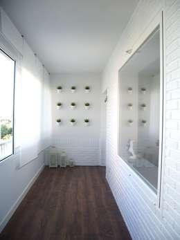 VIVIENDA CHG: Terrazas de estilo  de mae arquitectura
