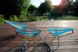 Aussenbereich: moderner Garten von design.s Richard Stanzel e. K.