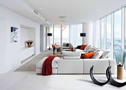 Salas de estilo moderno por Convert Casa srl - Arredamenti & Interior Design