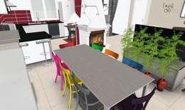 SAlle à manger: Salle à manger de style de style Classique par L'Oeil DeCo