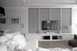 Dom w Falentach : styl , w kategorii Salon zaprojektowany przez 3deko