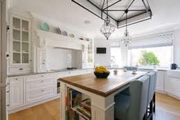 Dom w Wilanowie : styl , w kategorii Kuchnia zaprojektowany przez 3deko