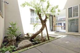 西品川の家: 光風舎1級建築士事務所が手掛けた庭です。