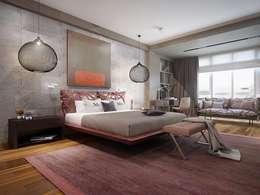 KAPRANDESIGN: endüstriyel tarz tarz Yatak Odası