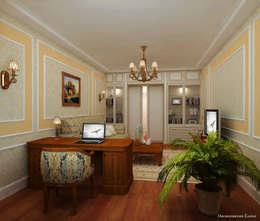 Гостиные: Гостиная в . Автор – Елена Овсянникова