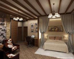 rustic Bedroom by Елена Овсянникова