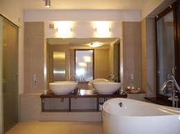 modern Bathroom by atz-studio
