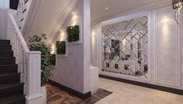 Частный дом (Краснодар): Гостиная в . Автор – Mushulov Project