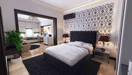 Mushulov Project: klasik tarz tarz Yatak Odası