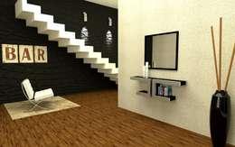 Livings de estilo minimalista por Domine design