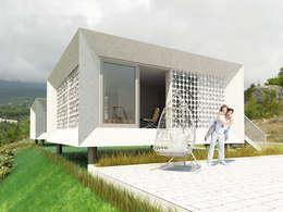 Prefabricated House: Дома в . Автор –  Aleksandr Zhydkov Architect